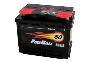 Аккумулятор FireBall 6СТ-60 a/h R 480A (EN)