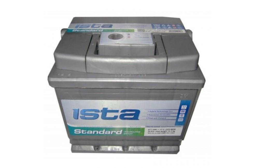Аккумулятор ISTA Standard (75 А/ч), 600А