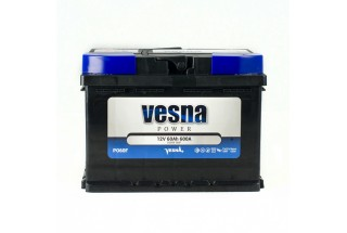 Аккумулятор VESNA Power 60 a/h R+ 600A (EN)