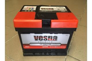 Аккумулятор VESNA Premium 54 a/h R+ 510A (EN)
