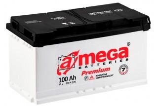 Аккумулятор A-mega 100 a/h R 950A (EN)