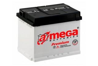 Аккумулятор A-mega 55 R+/L+ 510A (EN)