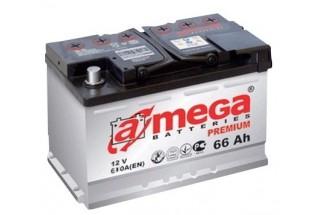 Аккумулятор A-mega 66 a/h R 610A (EN)