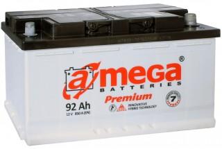 Аккумулятор A-mega 92 a/h R 850A (EN)
