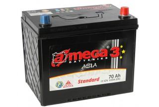 Аккумулятор A-mega Asia Standard 70 JR