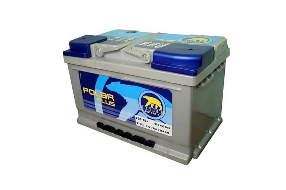 Аккумулятор Baren Polar 75 A/h 730A (EN)