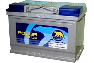 Аккумулятор Baren polar 80 a/h (580105) 730A