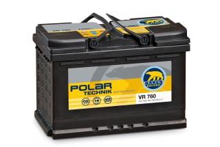 Аккумулятор BAREN Polar Technik AGM 70 a/h R 760A