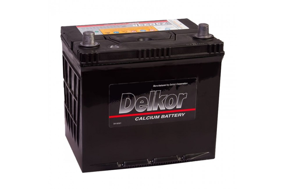 Аккумулятор Delkor (75D23L, R) 65 a/h 570A e/n