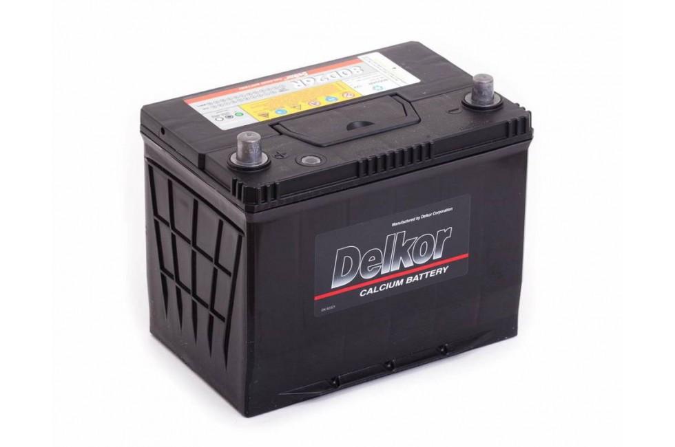 Аккумулятор DELKOR (80D26L) 75 a/h 600A e/n