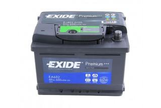 Аккумулятор Exide Premium 60 a/h R 600A (EN)