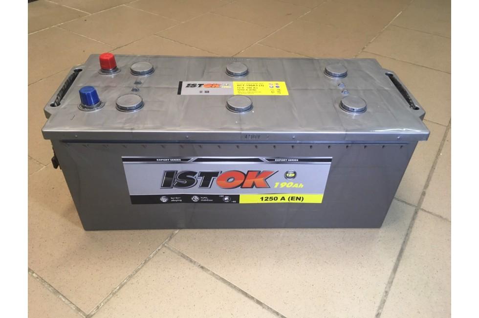 Аккумулятор Исток 190 a/h 1250 e/n