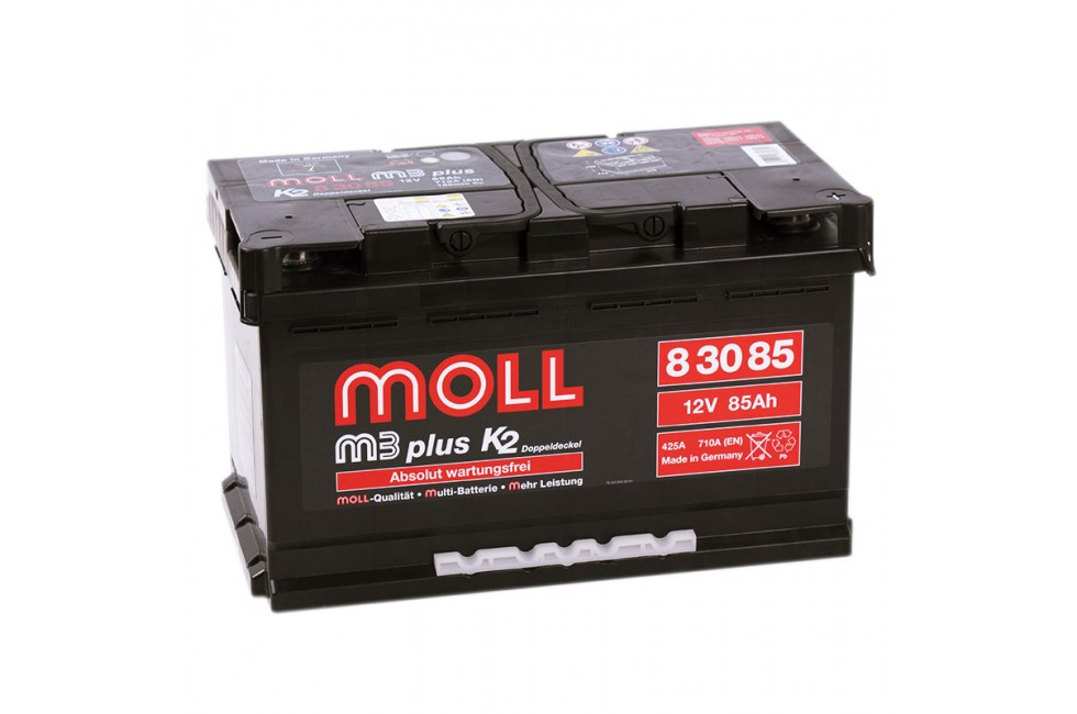 Аккумулятор Moll M3 Plus 85 A/ч made in GERMANY