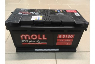 Аккумулятор Moll M3 Plus 100 A/ч 850A (EN)