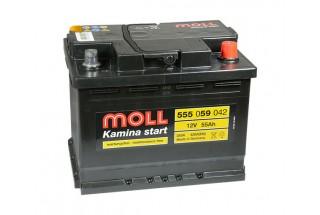 Аккумулятор Moll 55 A/ч R 420A (EN)