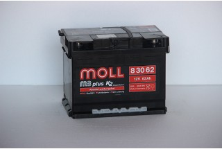 Аккумулятор Moll M3 Plus 62 A/ч 600A (EN)