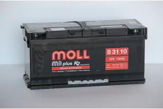 Аккумулятор Moll M3 Plus 110 a/h 900A (EN)