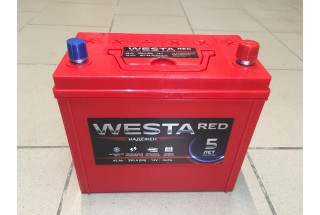 Аккумулятор Westa Asia RED 45 a/h 390A e/n