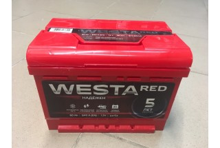 Аккумулятор Westa RED 60 a/h 640A (низкая)
