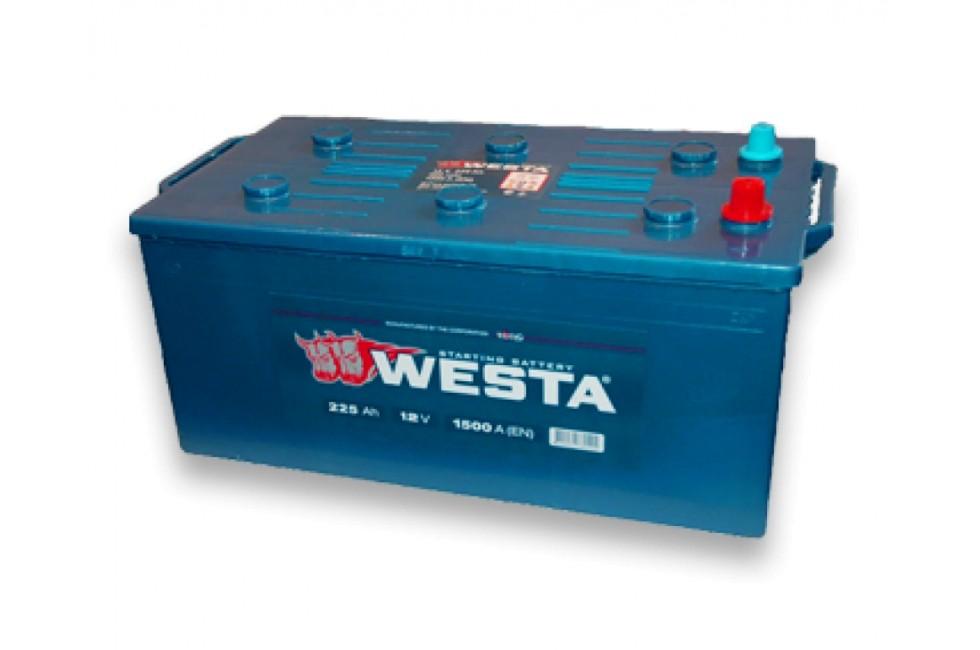 Аккумулятор Westa Standart 225 a/h 1500A e/n