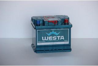 Аккумулятор Westa 50 a/h 480A e/n