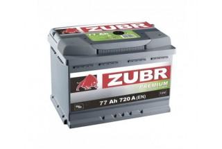 Аккумулятор Зубр Premium 77 А/ч 720A