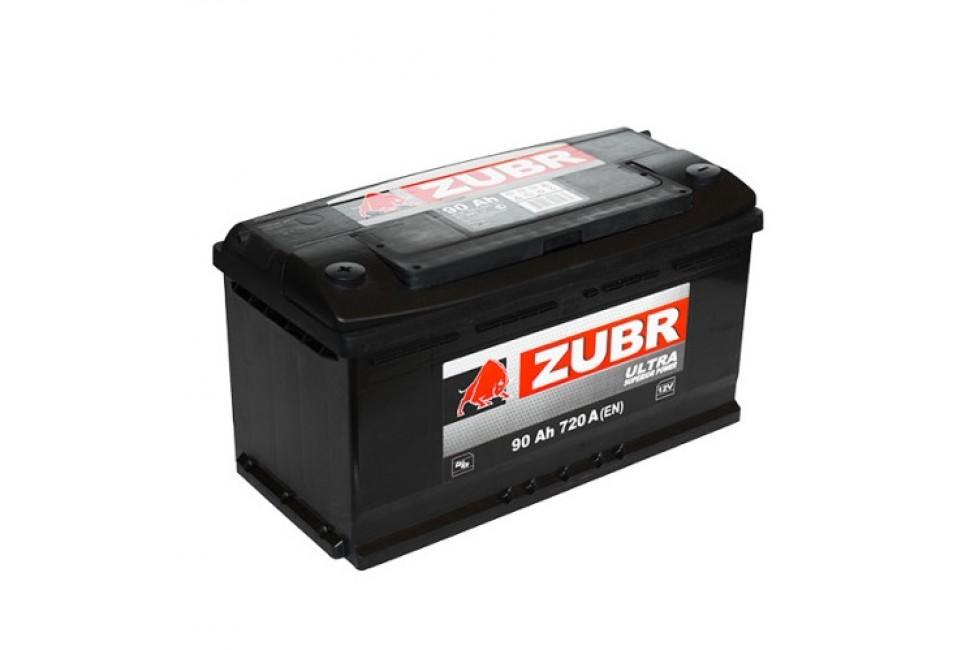 Аккумулятор Zubr Ultra 90 A/h 720А L+