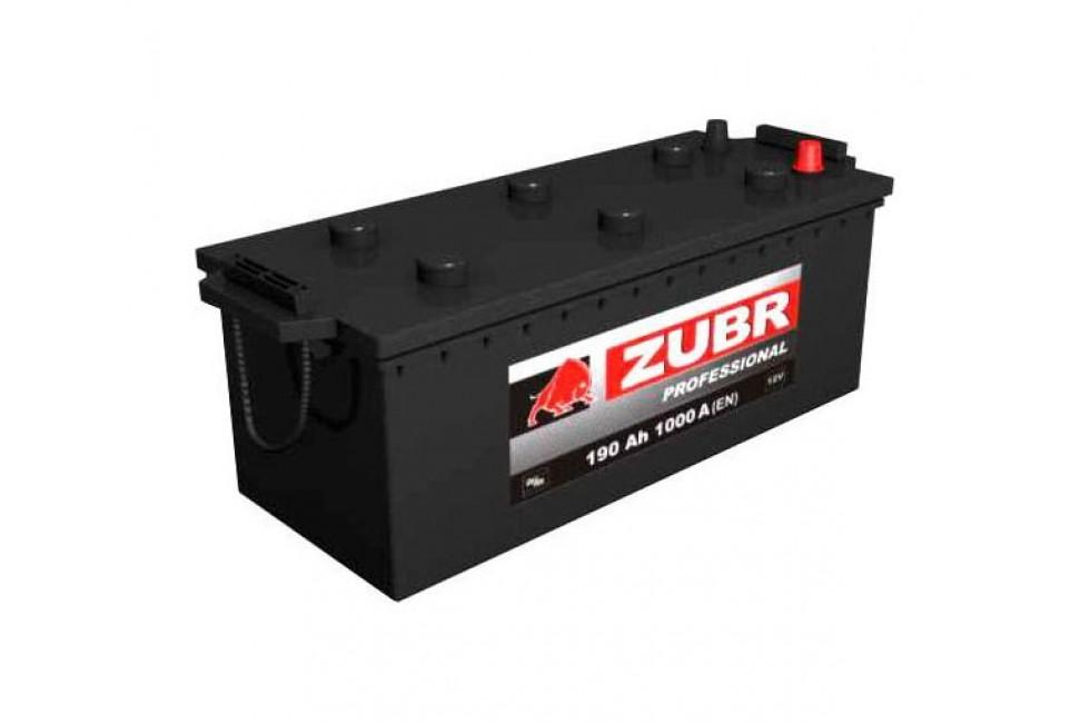 Аккумулятор Зубр ультра 190 a/h 1000A (EN)