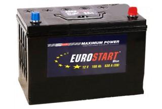 Аккумулятор Eurostart Blue ASIA 100 A/h 630A L+