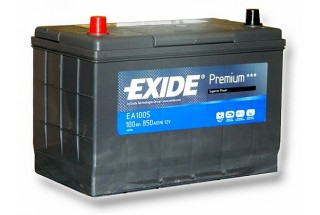 Аккумулятор Exide Premium EA1005 (100 A/h), 850A L+