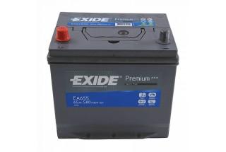 Аккумулятор Exide Premium EA655 (65 A/h), 580A L+