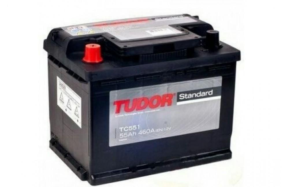 Аккумулятор Tudor Starter TC551A 55 А/ч 460A L+