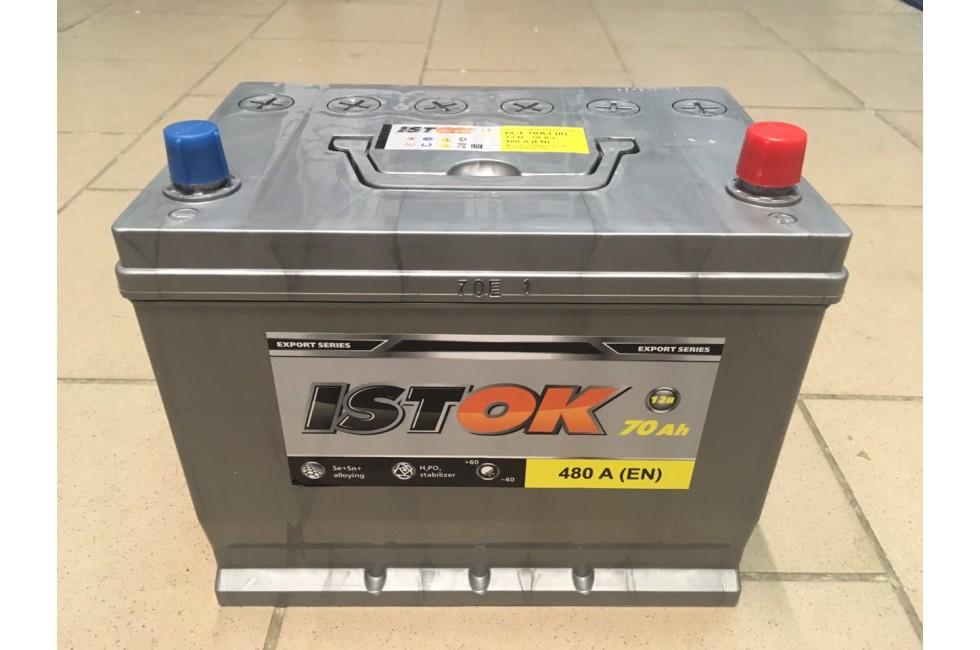 Аккумулятор ИСТОК Asia 70 a/h 480А