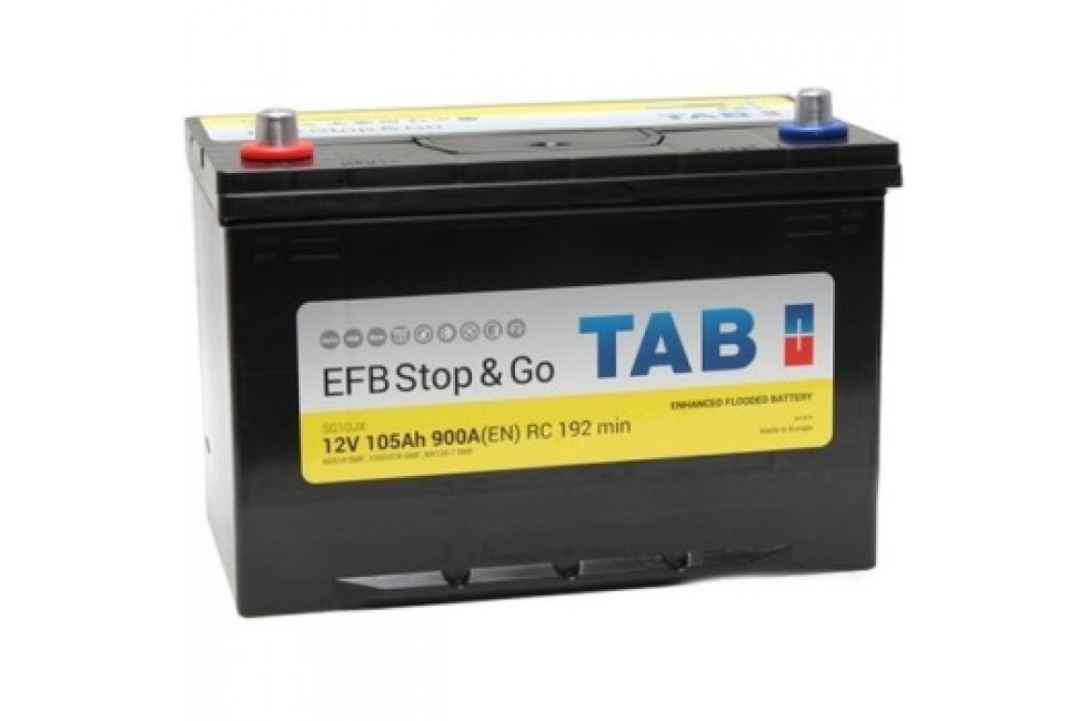 Аккумулятор TAB Stop&Go EFB SG10JX (105 А·ч)