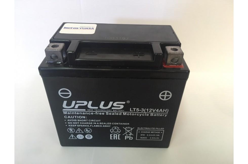 Аккумулятор UPLUS Super Star LT5-3 (YTX5L)