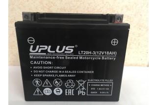 Аккумулятор UPLUS Super Start LT20H-3 (YTX20L-BS 518901) 18 Ач R+