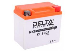 Аккумулятор Delta CT1205 (YTX5L-BS, YTZ7S, YT5L-BS)