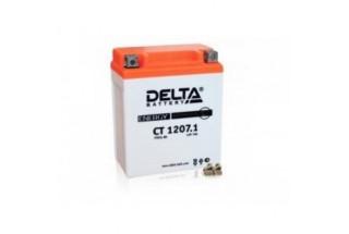 Аккумулятор Delta CT1207.1 (YTX7L-BS)