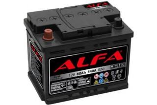 Аккумулятор ALFA Hybrid 60 А/ч 540A L+