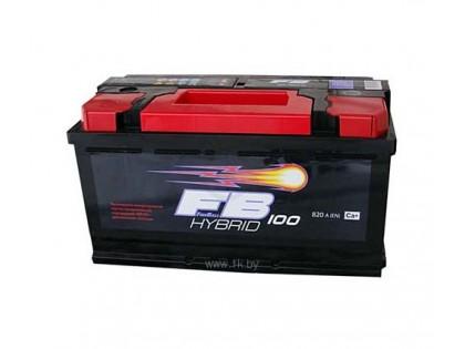 Аккумулятор FireBall 6СТ-100 a/h R 850A (EN)