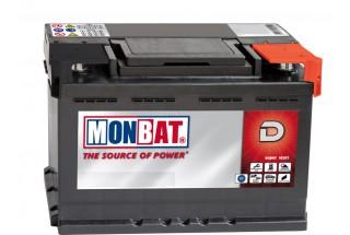 Аккумулятор MonBat (80 A/h), 770A R+