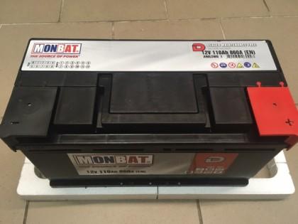 Аккумулятор MonBat 110 Ah 860A