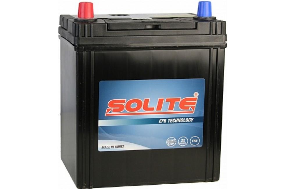 Аккумулятор Solite EFB K42R 38 А/ч L+