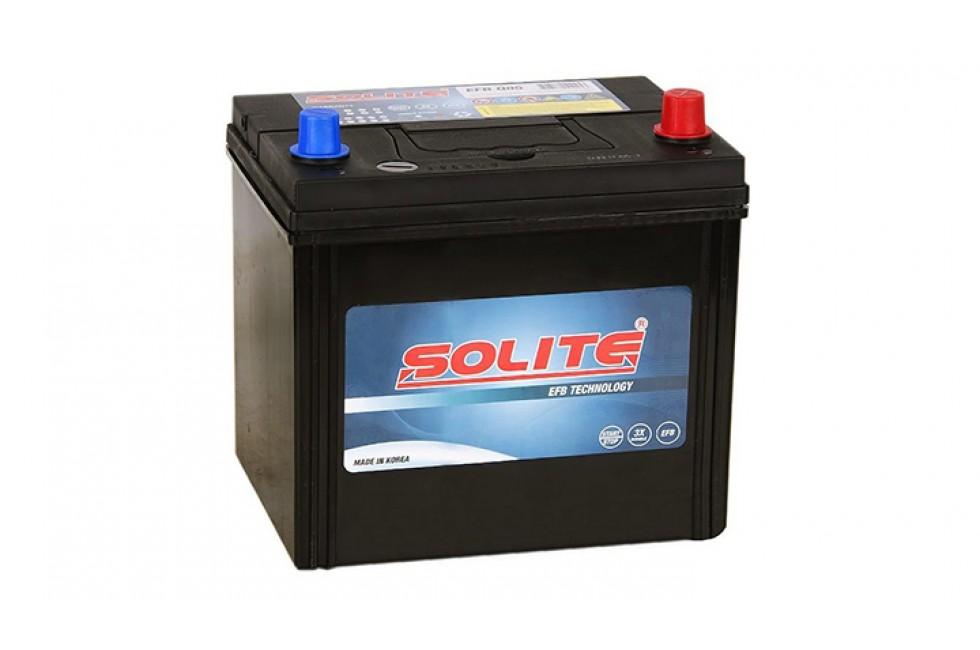 Аккумулятор Solite EFB N55 50 А/ч 440 А (EN) R+