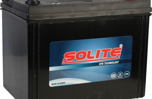 Аккумулятор Solite EFB S95 80 А/ч  790 А (EN) R+