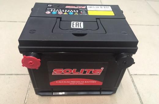 Аккумулятор Solite CMF 75 86-630