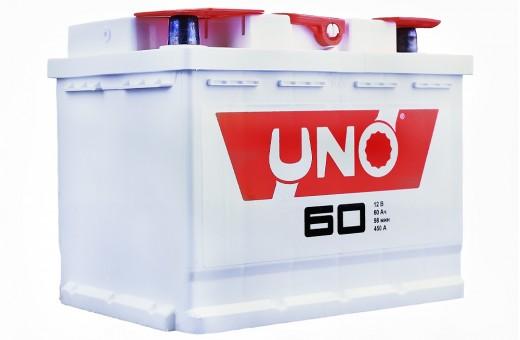 Аккумулятор UNO 6CТ-60 (60 А/ч) 450 A