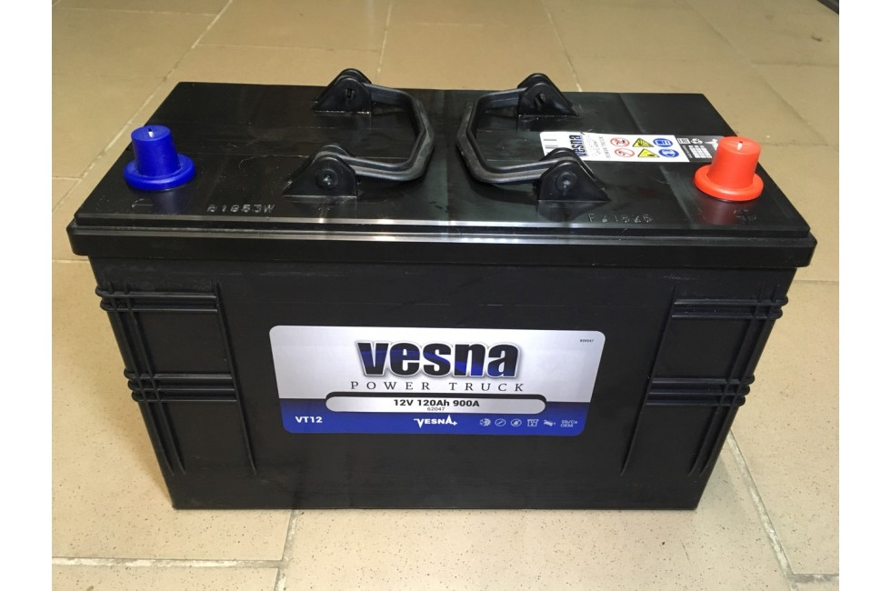 Аккумулятор VESNA Power Truck 120 a/h R+ 900A EN (IVECO)