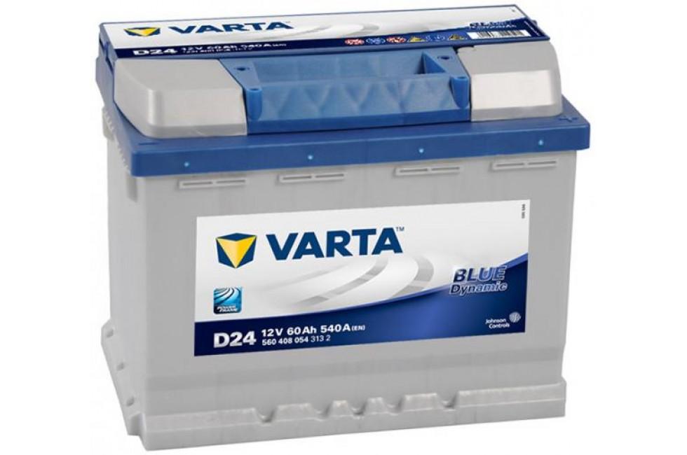 Аккумулятор Varta Blue Dynamic 60 А/h 540А R+