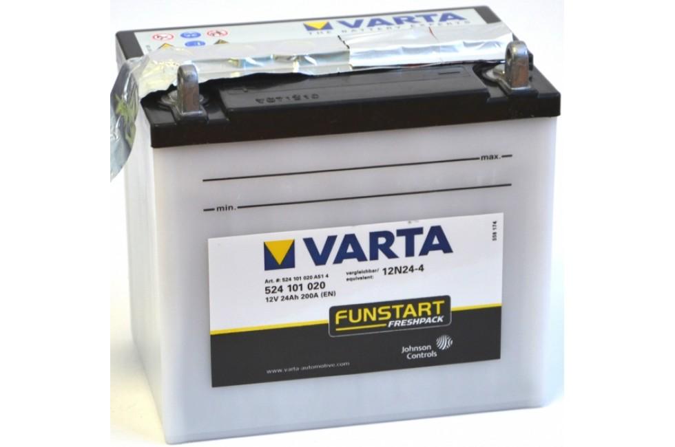 Аккумулятор VARTA 12N24-4 (524101)